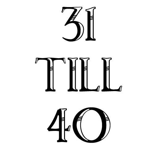 31 to 40
