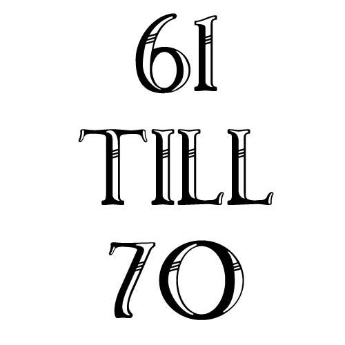 61 to 70