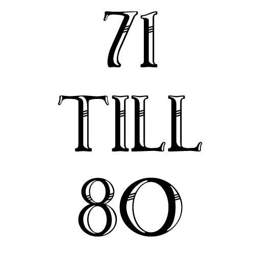 71 to 80
