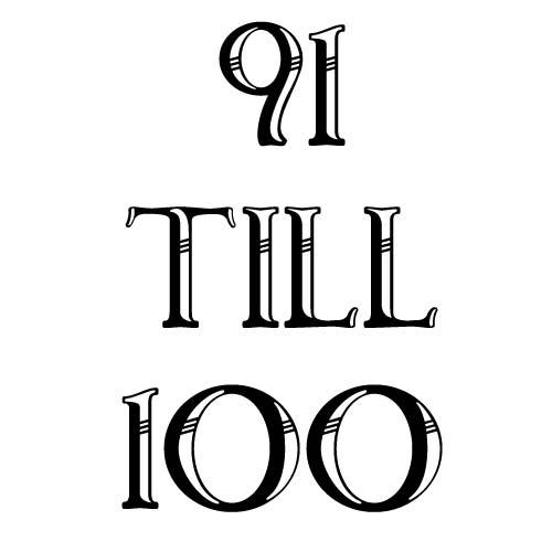 91 to 100